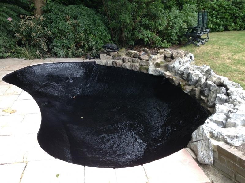 Full Pond lining
