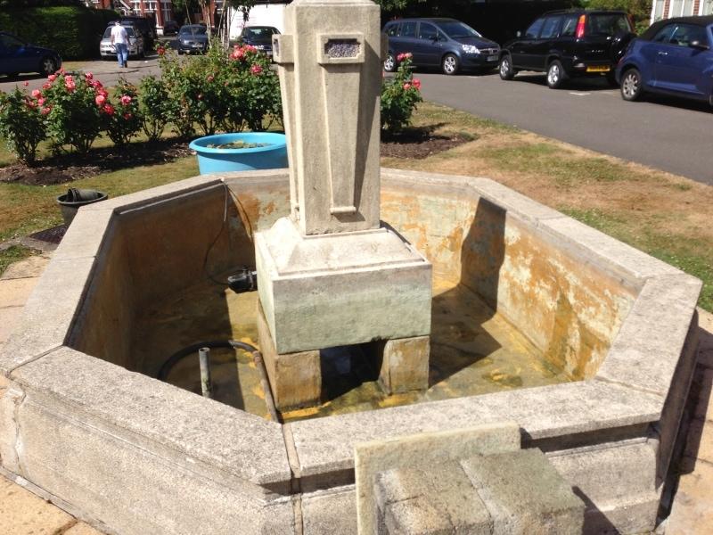water fountain repairs