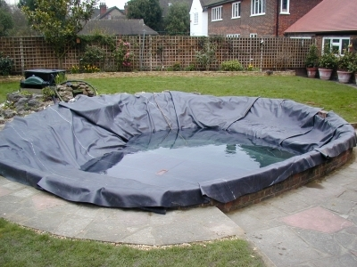 garden pond relining
